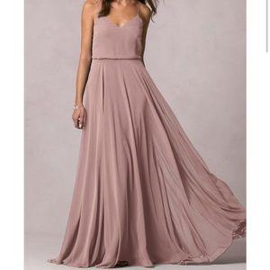 Jenny Yoo Inesse Dress in Wisteria